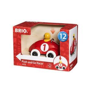 北欧 BRIO ブリオ おもちゃ プッシュ&ゴー・レーサーカー  30226 車 ベビーギフト|villervalla