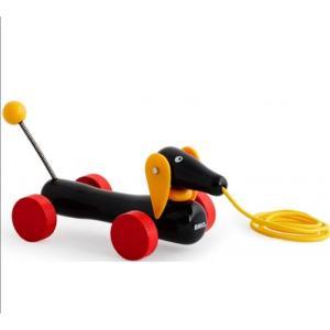 北欧 BRIO ブリオ おもちゃ ダッチ― 犬 木製 ギフト|villervalla