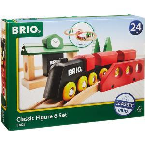ブリオ レール おもちゃ BRIO クラシックレール 8の字セット ギフト 北欧 電車 33028|villervalla