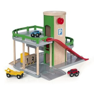 ブリオ おもちゃ パーキングガレージ 車 ミニカー おもちゃ 33204|villervalla
