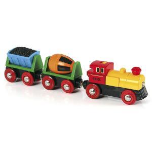 ブリオ おもちゃ BRIO バッテリーパワーアクショントレイン 知育玩具 北欧|villervalla