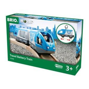 北欧 BRIO ブリオ おもちゃ トラベルバッテリートレイン 電車 ギフト|villervalla