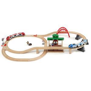 ブリオ 電車 おもちゃ BRIO トラベルレールセット ギフト 北欧|villervalla