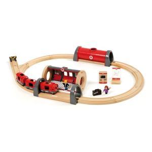 ブリオ おもちゃ 電車 メトロレールウェイセット おもちゃ ギフト 北欧|villervalla