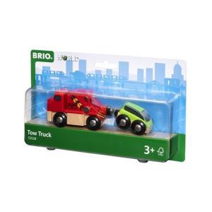 北欧 BRIO ブリオ おもちゃ 牽引トラック 車 木製レール ギフト|villervalla