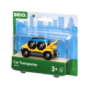 北欧 BRIO ブリオ おもちゃ カートランスポーター 輸送車 車 ギフト|villervalla