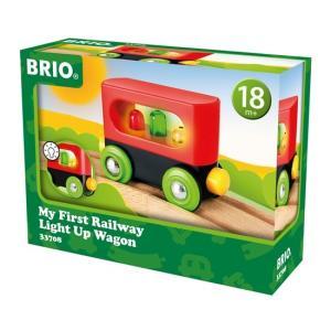 北欧 BRIO ブリオ おもちゃ ライトアップワゴン 車 マイファースト ギフト|villervalla
