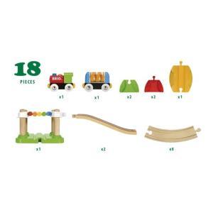 北欧 BRIO ブリオ おもちゃ レールセットビギナー向け マイファースト ギフト|villervalla|02