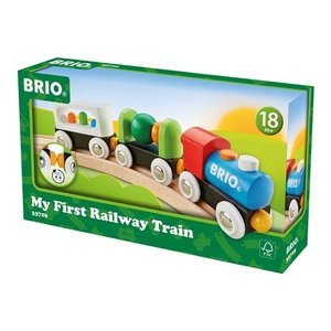 北欧 BRIO ブリオ おもちゃ マイファースト トレイン 電車 ギフト|villervalla