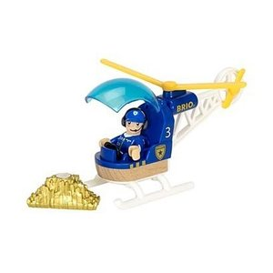 ブリオ おもちゃ ポリスヘリコプター BRIO ギフト 北欧|villervalla