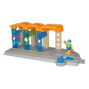 ブリオ おもちゃ 電車  ウォッシングステーション おもちゃ ギフト 北欧|villervalla
