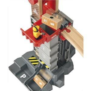 ブリオ ウェアハウスレールセット おもちゃ BRIO ギフト 北欧|villervalla|03