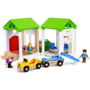 ブリオ おもちゃ BRIO サマーハウス 組み立て 知育玩具 ギフト 北欧|villervalla