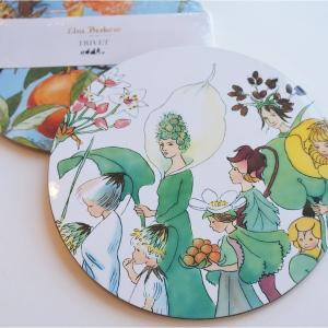 鍋敷き 花のパレード エルサベスコフ 北欧 キッチン用品|villervalla