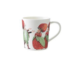 北欧 キッチン用品 マグカップ イチゴ柄 エルサベスコフ|villervalla