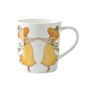 北欧 キッチン用品 マグカップ タンポポ柄 エルサベスコフ|villervalla