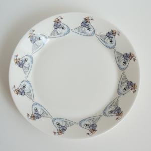 北欧 キッチン用品 プレート 丸皿 スモール 白鳥柄 エルサベスコフ 食器|villervalla