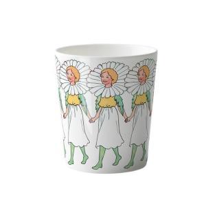北欧 マグカップ マーガレット marguerite ハンドル無し 花柄 妖精 エルサベスコフ 食器 母の日|villervalla