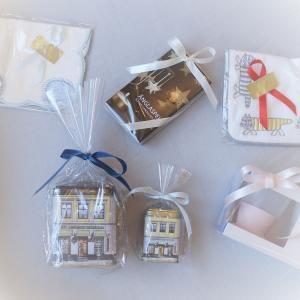 簡易ラッピング リボンまたはシール付き 包装 贈り物 プレゼント お祝い|villervalla