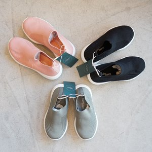 BabyMocs スニーカー キッズ スリッポン Little-Runner 黒 ピンク グリーン 北欧 スウェーデン villervalla