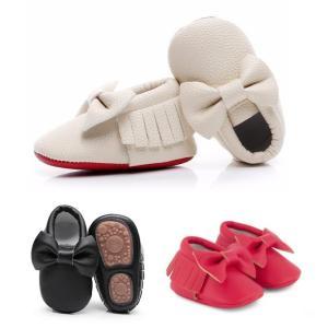 ベビーシューズ 靴 BabyMocs リボン bow collection 出産祝い 北欧 かわいい ファーストシューズ villervalla