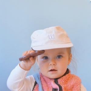 SCHMECK 5 panel cap CREAM クリーム キャップ 帽子 子供服|villervalla