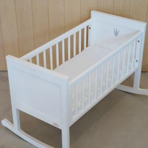 北欧 ベビー ゆりかご ベンチ 寝具 出産祝い 子供部屋 スウェーデン王室御用達 TROLL|villervalla|05