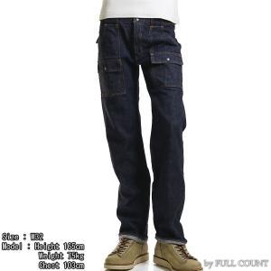【返品不可】FULLCOUNT 1246W ブッシュパンツ 13.7oz. DENIM BUSH PANTS フルカウント【裾上げ対応】|vintage