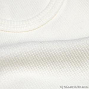 【返品不可】GLAD HAND GH0005 2枚組タンクトップ 無地 STANDARD TANK TOP 2-PACK PLAIN グラッドハンド|vintage|05