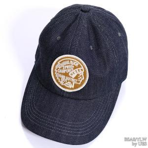 【返品不可】UES 82DC デニムキャップ DENIM BASEBALL CAP ウエス|vintage|05