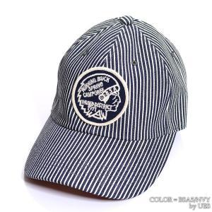 【返品不可】UES 82HC ヒッコリーストライプキャップ HICKORY STRIPE BASEBALL CAP ウエス|vintage