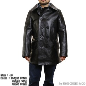 FINE CREEK & CO ACCO001 レザージャケット ハワード LEATHER JACKET HOWARD ファインクリーク・アンド・コー|vintage