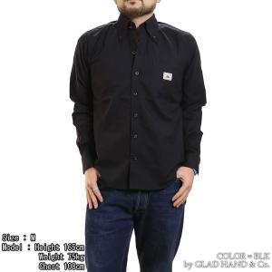 【返品不可】GANGSTERVILLE GSV-18-AW-39 長袖シャツ HIGH COLLAR - L/S SHIRTS ギャングスタービル|vintage