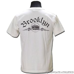 NEWGATE ATHLETICS ORC18001 プリントTシャツ ORIGINAL PRINT CREW NECK TEE SHIRT S/S BROOKLYN ニューゲートアスレチックス|vintage|03