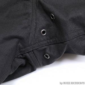 【返品不可】BUZZ RICKSON'S x WILLIAM GIBSON BR14276 デッキジャケット Type BLACK N-1 JUNGLE CLOTH DOWN FILLED|vintage|11