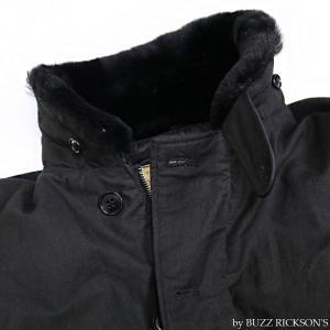 【返品不可】BUZZ RICKSON'S x WILLIAM GIBSON BR14276 デッキジャケット Type BLACK N-1 JUNGLE CLOTH DOWN FILLED|vintage|05