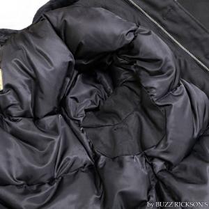 【返品不可】BUZZ RICKSON'S x WILLIAM GIBSON BR14276 デッキジャケット Type BLACK N-1 JUNGLE CLOTH DOWN FILLED|vintage|07