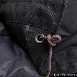 【返品不可】BUZZ RICKSON'S x WILLIAM GIBSON BR14276 デッキジャケット Type BLACK N-1 JUNGLE CLOTH DOWN FILLED|vintage|09