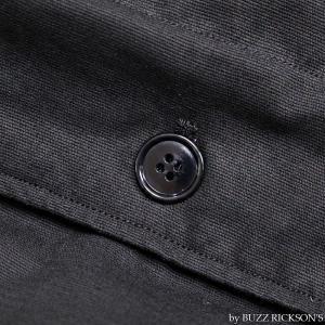 【返品不可】BUZZ RICKSON'S x WILLIAM GIBSON BR14276 デッキジャケット Type BLACK N-1 JUNGLE CLOTH DOWN FILLED|vintage|10