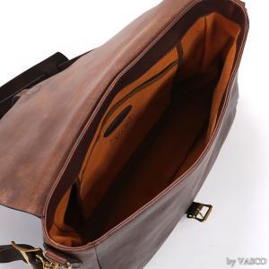 VASCO VS-248L レザーショルダーバッグ LEATHER POSTMAN SHOULDER BAG - LARGE ヴァスコ|vintage|07