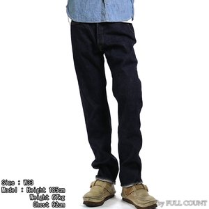 【返品不可】FULLCOUNT 1108W デニムパンツ 13.7oz. DENIM PANTS NEW STRAIGHT フルカウント【裾上げ対応】|vintage