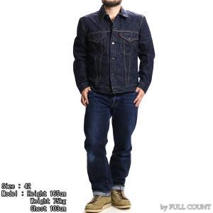 【返品不可】FULLCOUNT 2101W デニムジャケット 13.7oz. DENIM JACKET NO PLEATS 3rd MODEL フルカウント|vintage