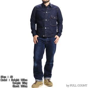【返品不可】FULLCOUNT 2737W デニムジャケット 13.7oz. DENIM JACKET 1st TIGHT FIT 1st MODEL フルカウント|vintage