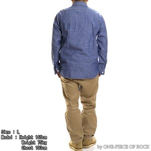 ONE-PIECE OF ROCK ORS19101 アンカースミスシャツ WORK SHIRTS L/S ANCHOR SMITH ワンピースオブロック|vintage|03