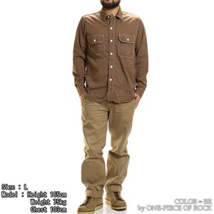 ONE-PIECE OF ROCK ORS19101 アンカースミスシャツ WORK SHIRTS L/S ANCHOR SMITH ワンピースオブロック|vintage|04