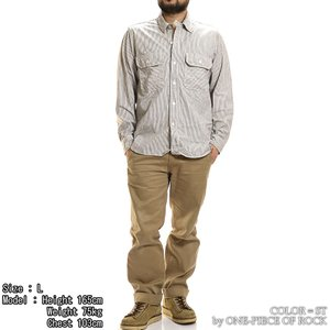 ONE-PIECE OF ROCK ORS19101 アンカースミスシャツ WORK SHIRTS L/S ANCHOR SMITH ワンピースオブロック|vintage|08