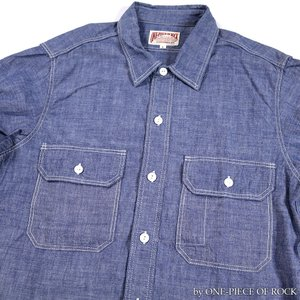 ONE-PIECE OF ROCK ORS19101 アンカースミスシャツ WORK SHIRTS L/S ANCHOR SMITH ワンピースオブロック|vintage|10