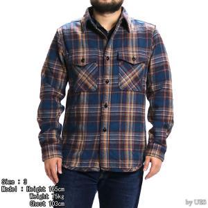 【返品不可】UES 501954 エクストラヘビーネルシャツ EXTRA HEAVY FLANNEL SHIRTS ウエス|vintage