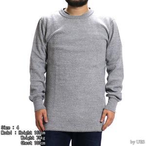 【返品不可】UES 60T 四本針ヘビーサーマルレギュラーTシャツ BIG WAFFLE TEE SHIRT L/S REGULAR ウエス|vintage