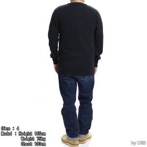 【返品不可】UES 60T 四本針ヘビーサーマルレギュラーTシャツ BIG WAFFLE TEE SHIRT L/S REGULAR ウエス|vintage|03